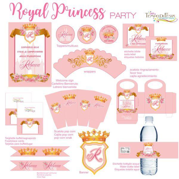 Principessa Reale Festa Stampabile - Tempo di FestaTempo di Festa