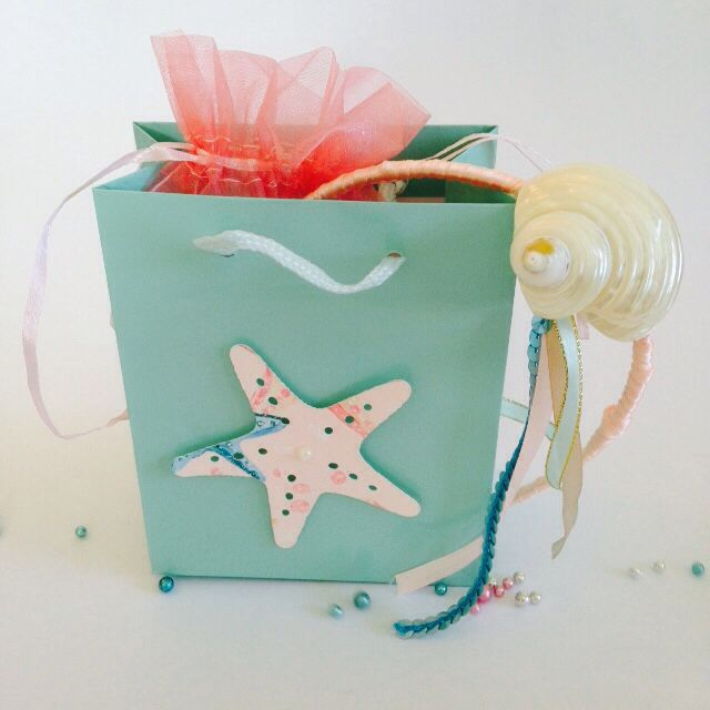 Mermaid party decor , party pack gift bag !