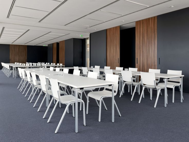 For The Seminar Area, The Stacking Chair Alite Was Selected @ GDF Suez. Http