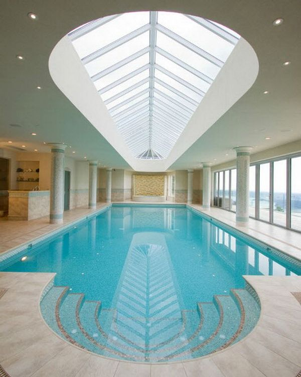 Best 25 indoor swimming pools ideas on pinterest indoor pools in houses amazing swimming - Residential swimming pool designs ...