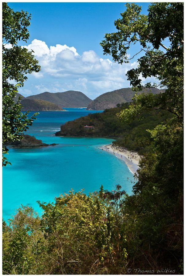 Trunk Bay, ST. John U.S. Virgin Islands  1984 - 1992 many times lived in St. Thomas