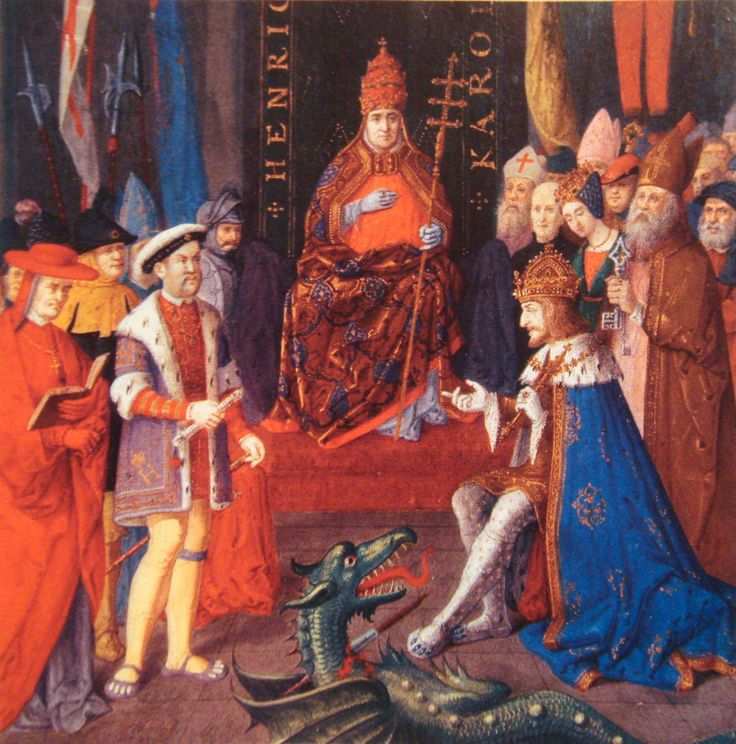 (1531) During Henry VIII's break from Rome, he became head of church. This would make Henry be recognized as protector of the church and making his title proclaimed to the people of his dominancy.