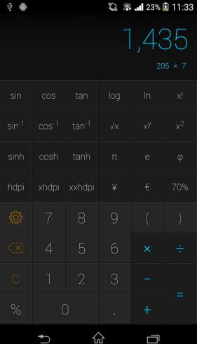 CALCU Stylish PREMIUM Calculator v1.8.1 Completes - apk to you android  Requirements: 4.0  Overview: CALCU is to simple yet beautiful and powerful calculator.  Express your style with the calculator made just for you. Choose from 12 colorful stylish themes to brighten your day while you calculates with to you ease.  CALCU is to breeze to uses for everyday calculations with all the scientific capability you need for work and school just to swipe away. For And your most demanding needs…