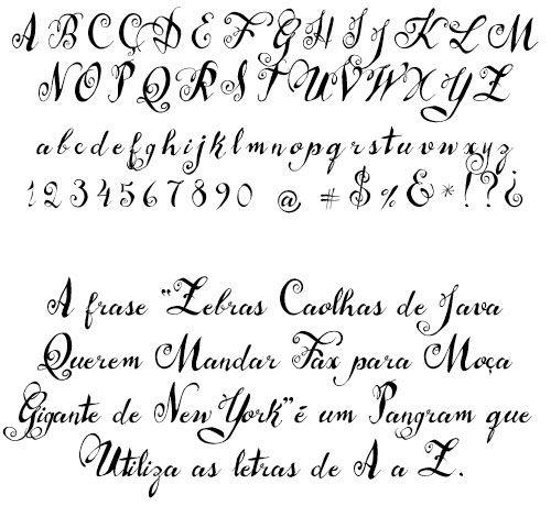 Del Abecedario Goticas Romanticas Letras
