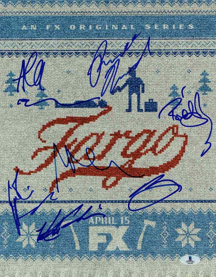 Fargo TV Series Cast Signed 11x14 Photo Certified Authentic Beckett BAS COA