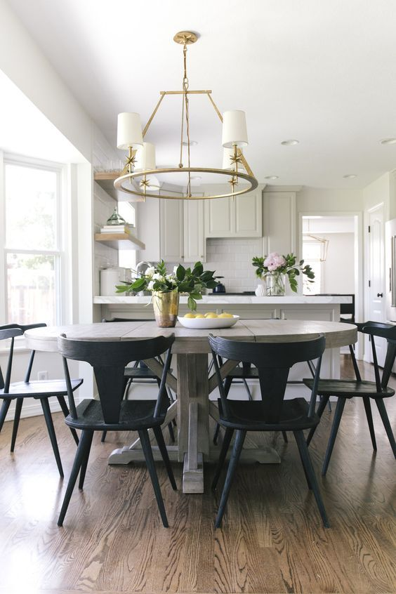 450 Best Black Dining Table Ideas, Cool Dining Room Table Chairs