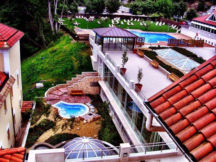 Vistas maravillosas desde el Gran Hotel y Balneario de Puente Viesgo
