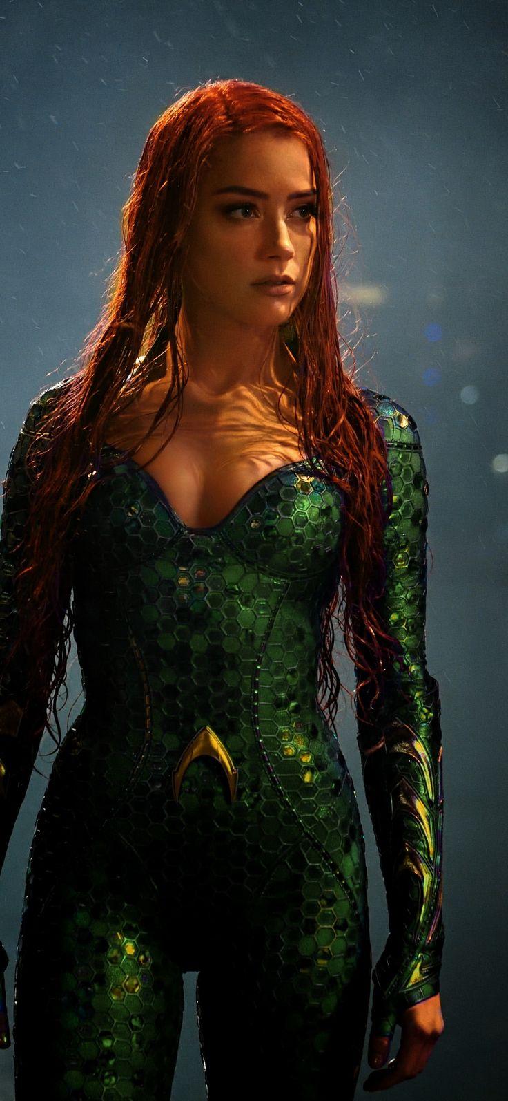 Movie, Aquaman, Amber Heard, Mera, 1125X2436 Wallpaper -4868