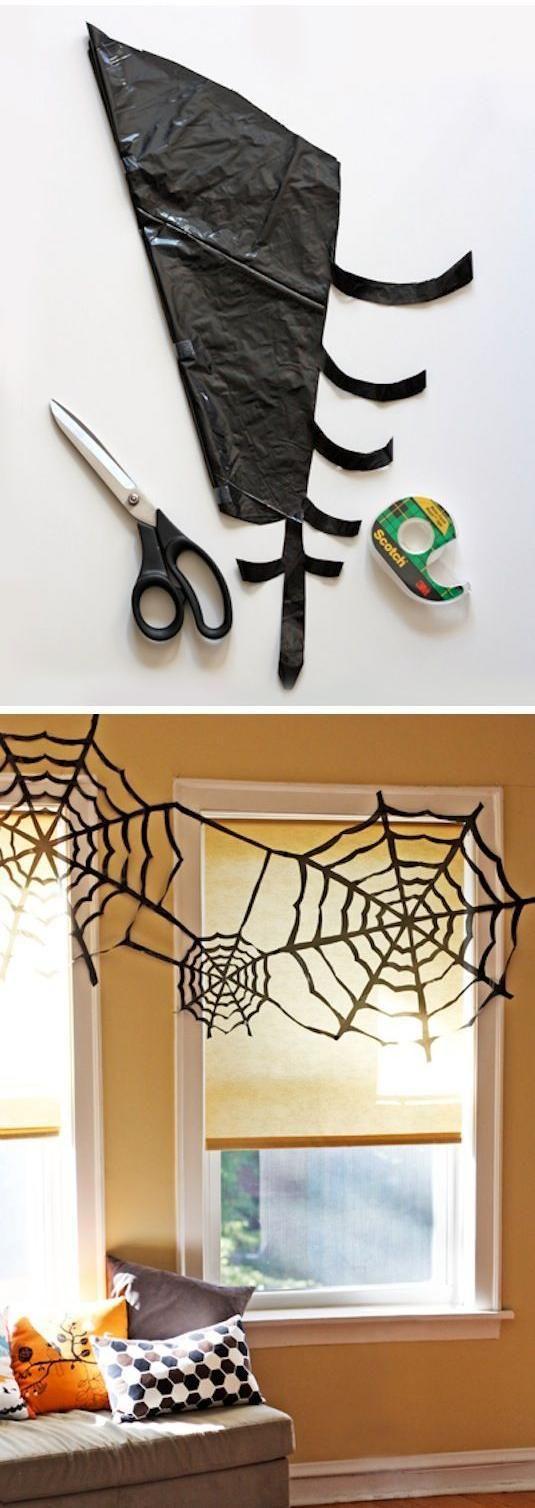 Vamos a poner nuestra casa terroríficamente chula, ¿os atrevéis? Tela de araña