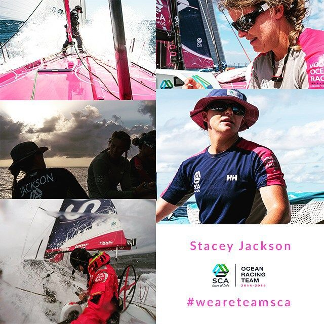 """Did the race change me? Yes for sure it confirmed what I did believe, it is possible to achieve your dreams and your goals. Would I do the race again? In a heart beat, give me some sleep but once i'm well rested I would love to go again!"" Stacey Jackson. #weareteamsca #teamscasailors"