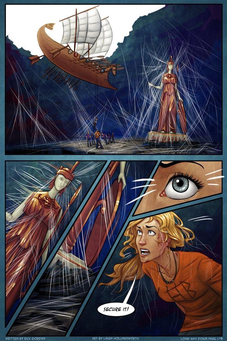 The Titan's Curse – the Graphic Novel by Rick Riordan ... |Percy Jackson Graphic Novel Annabeth