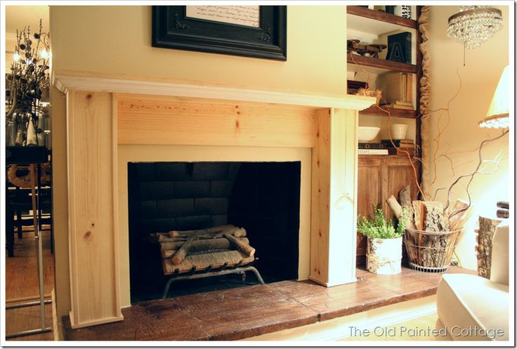17 Best Images About The Fireplace On Pinterest Painted