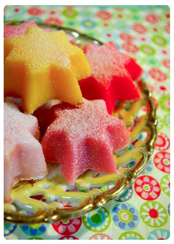 oh my stars - pixxxie pie's guest soap variety pack o' joy - 6 delightful guest soaps - you pick the aromas