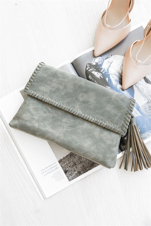 Moss Clutch - Accessories by Sabo Skirt | SABO SKIRT