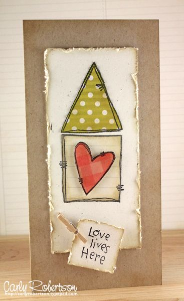 Home Sweet Home by PaperInBloom - Cards and Paper Crafts at Splitcoaststampers