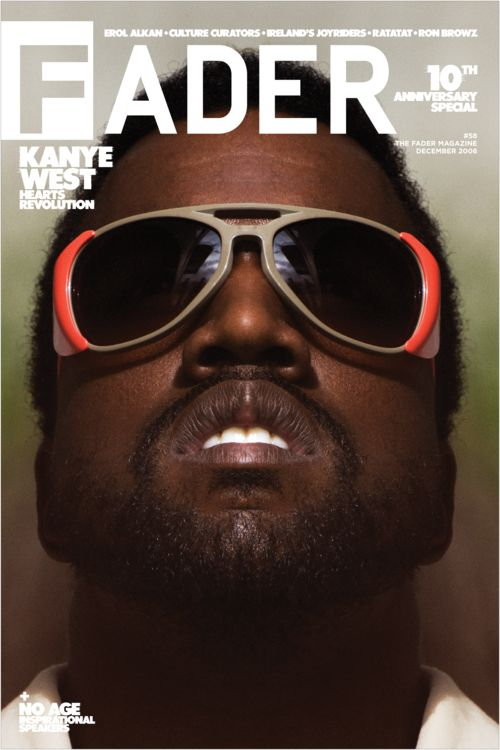 "Kanye West / The FADER Issue 58 Cover 20"" x 30"" Poster"