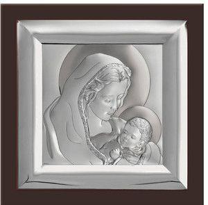 Obrazek Matka Boska z dzieciątkiem - prezent na chrzest, chrzciny, ślub komunię pasazhandlowy.eu