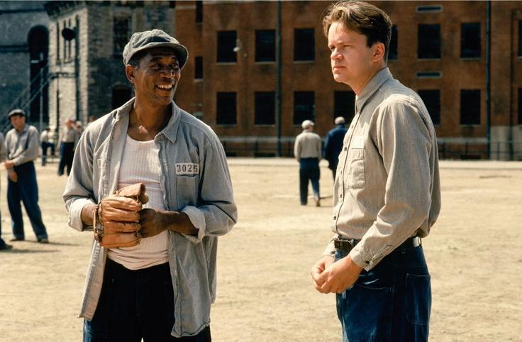 """The Shawshank Redemption 1994  (basado en el relato de Stephen King """"Rita Hayworth and Shawshank Redemption"""")"""