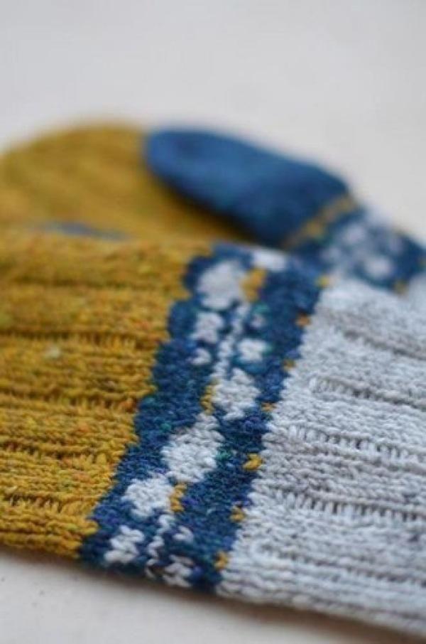Модные вязаные перчатки, варежки и митенки 2015