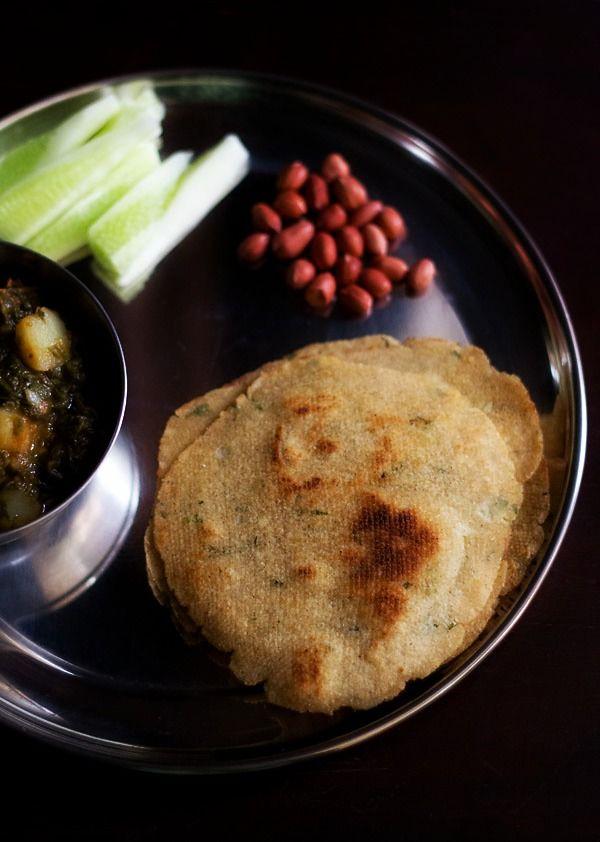 kuttu ka paratha or vrat ka paratha for navratri fasting - gluten free flat breads made with buckwheat flour and mashed potatoes.