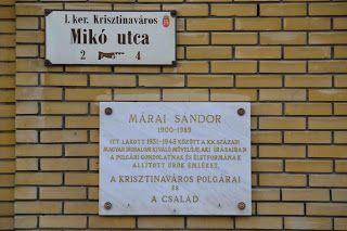 La casa di Sandor Marai a Budapest