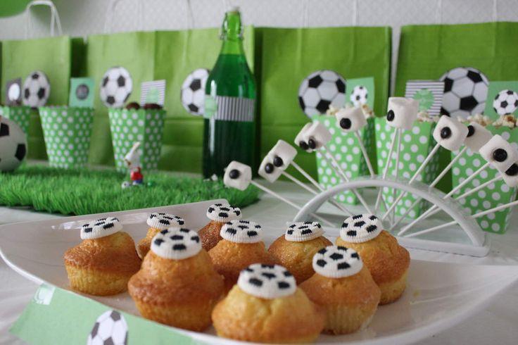 buffet anniversaire football