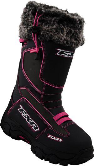 FXR Women's EXCURSION Boot - Black-Fuchsia