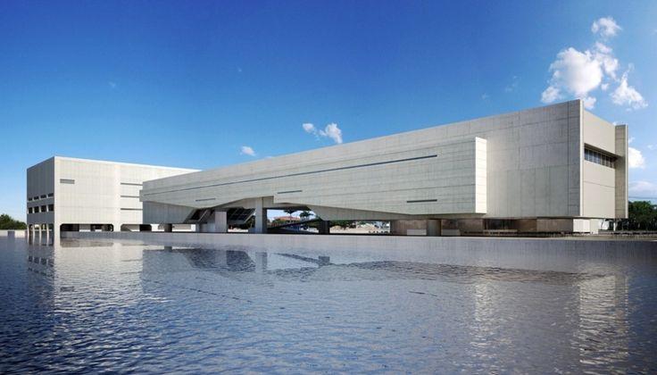 Cais das Artes.... Paulo Mendes da Rocha + METRO