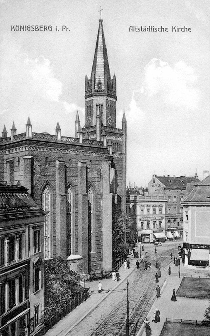 Königsberg Pr. Altstädtische Kirche