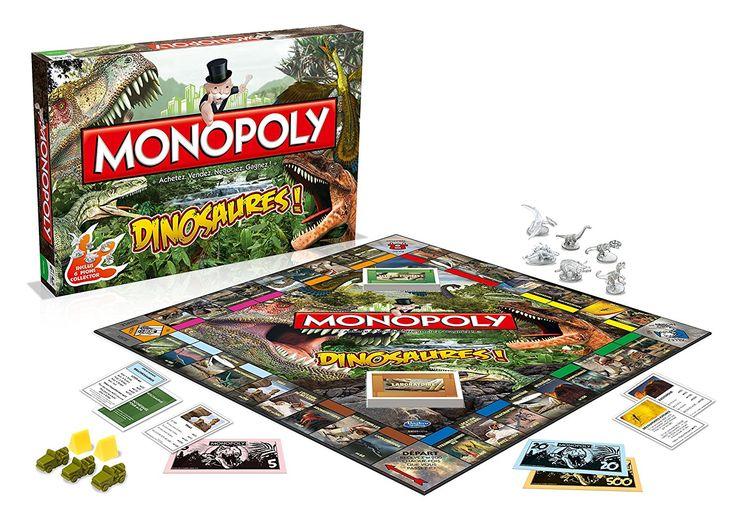 Winning Moves - 0164 - Monopoly Dinosaures - Version Française: Amazon.fr: Jeux et Jouets