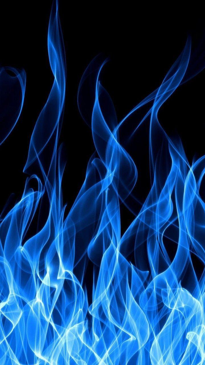 Blue Fire Wallpaper Orange Wallpaper Blue Wallpaper Iphone Blue Wallpapers