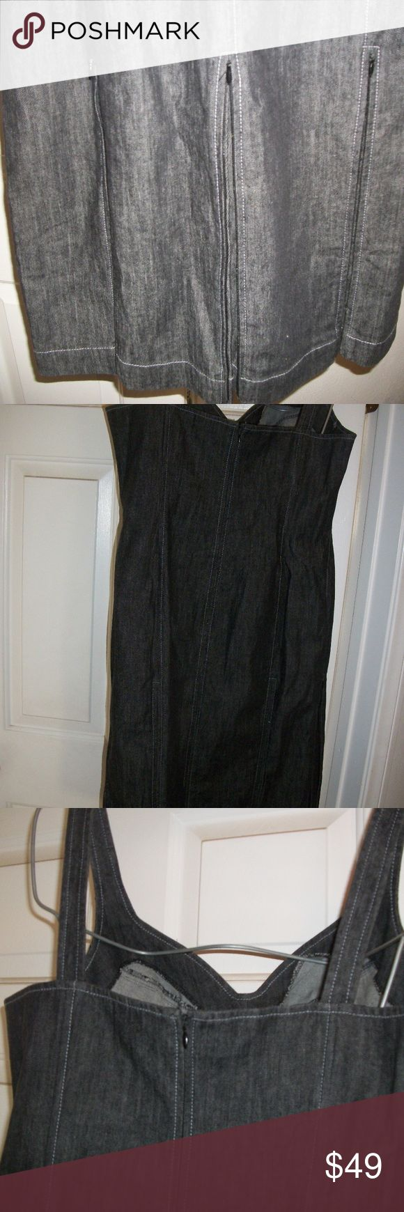 Randolph Duke Zipper Jean  Dress Hello, and thank you for stopping through to look at this Beautiful HSN Randolph Duke Women's Size16 Special/Party Suprise Detail Zipper Jean Dress. Condition is New with tags. Gorgeous Jean Blue color, light in weight. Full invisible zipper on the back with full skirt.. Very cute! Material is Cotton and Spandex.. Please ask any questions.. Comes from a smoke and pet free home - even though we Luv pets:) Thank you! Blessings~ Randolph Duke Jeans Flare & Wide…