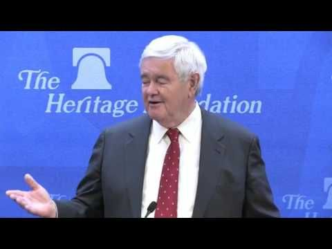 Newt Gingrich - Understanding Trump and Trumpism 4 : On the Eve of the T...