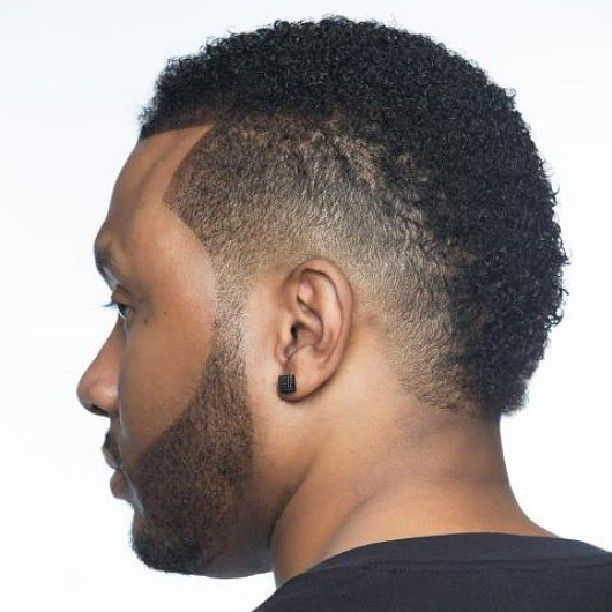 usher faux hawk fade - Google Search | Men Afro Hair Style ...