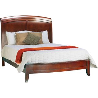 @Overstock - Brighton California king panel bed constructed from tropical mahogany woods and cherry veneers Bed presents a classic sleigh bed design with carved panels on the headboard Bed fram...http://www.overstock.com/Home-Garden/Split-Panel-California-King-size-Wooden-Sleigh-Bed/3140685/product.html?CID=214117 $558.99