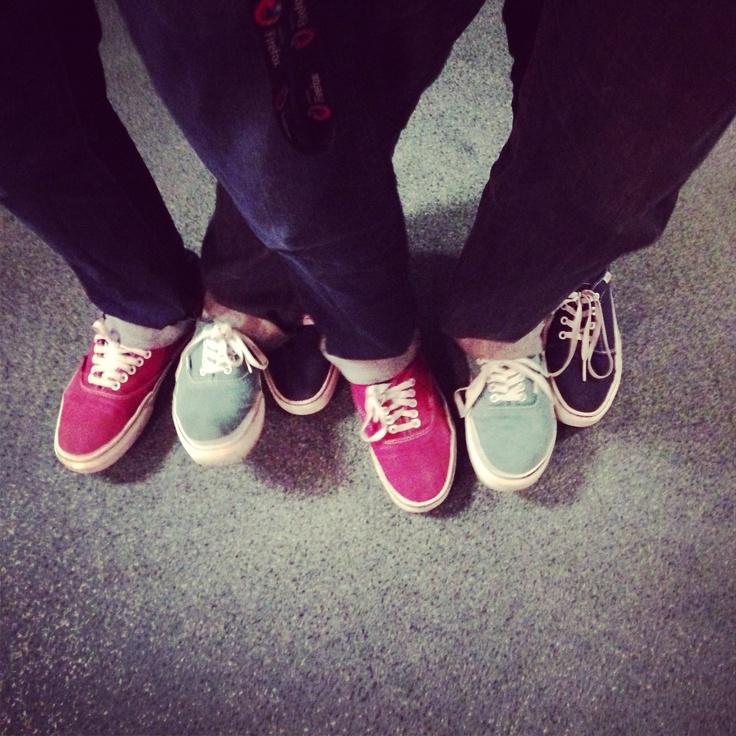 #shoesinsitu RGB 3 Pairs