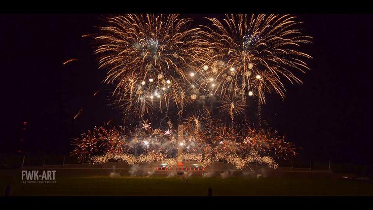 Pyronale 2016 - FLASH ART - Closing Show [Fireworks, Feuerwerk]