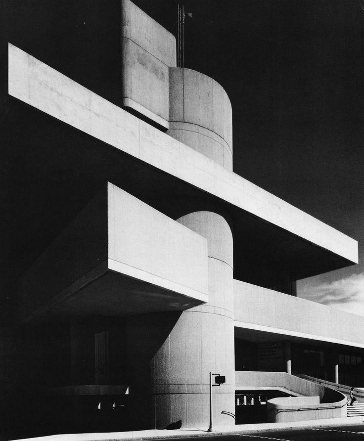 Community Services Building, New Haven, Connecticut, 1960s  (Douglas Orr, DeCossy Winder and Associates)