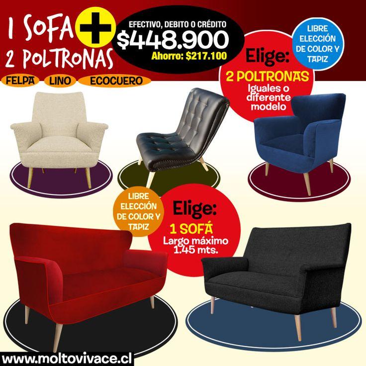 1 sofá y 2 sillones a un precio increibre #sonicosPromo #sofaPromo #sofáOferta #livingOferta #decoracionInterior