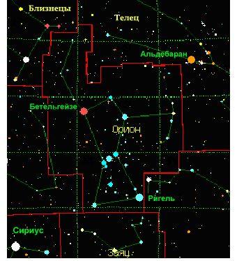 Туманность Ориона (Orion Nebula)