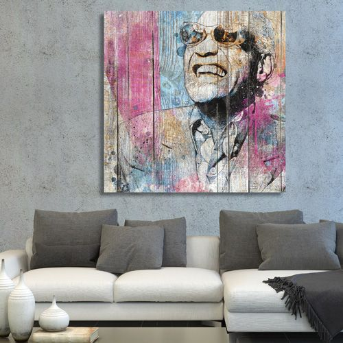 Tableau design musique Ray Charles