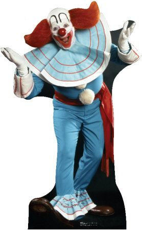 "Bozo, ""the world's most famous clown""  http://bozo-the-clown.info/"
