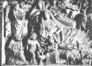 Nicola Pisano: Annunciation, Birth of Jesus and Adoration of the Shepherds