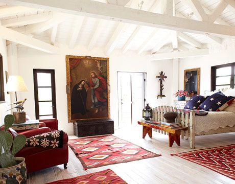 spanish style home religious art spanish and master bedrooms