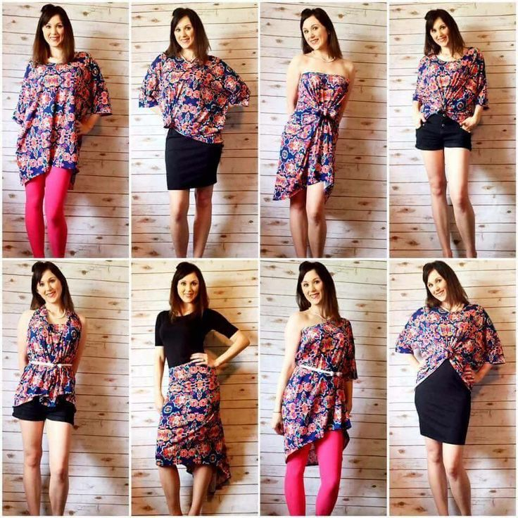 Ways to wear a Lularoe Irma!