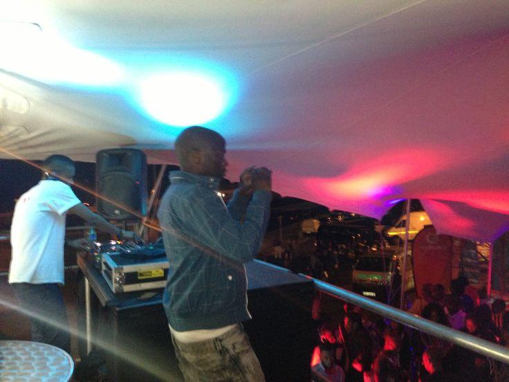 Deep House by FangdaRythm at 9th Soweto Wine Festival smoke lounge.