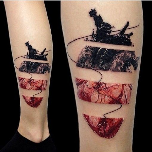56 best Trash Polka Style images on Pinterest | Tattoo ...