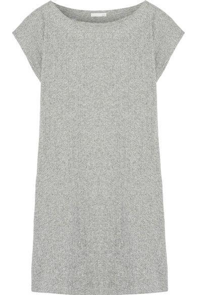 Skin - Ribbed Pima Cotton Tunic - Gray - 3
