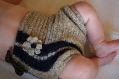 Easy Sew Wool Diaper Covers