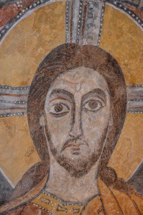 Ipogeo paleocristiano, Ardea, Lazio (a sud di Roma). Gli affreschi del V-VI secolo.